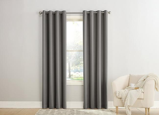 Màn cửa cao cấp Hàn quốc - màn cửa đẹp giá rẻ - màn cửa màu đen nhạt DimGray